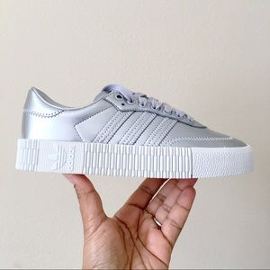 Adidas Sambarose Silver Metallic